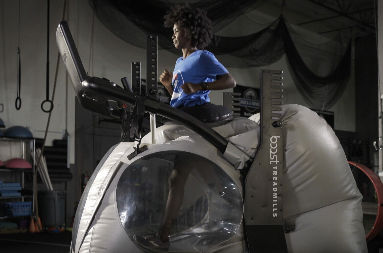 Boost Treadmill with Track Athlete
